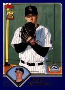 Topps All-Star Rookie Team - 2003 Topps Jason Jennings