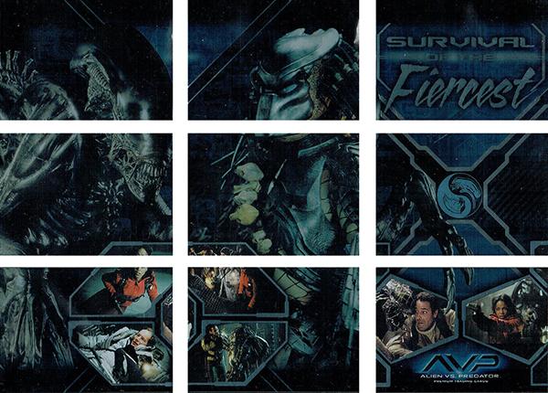 2004 Inkworks Alien vs Predator Survival of the Fiercest