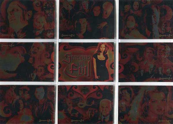2004 Inkworks Buffy the Vampire Slayer Big Bads Seasons of Evil