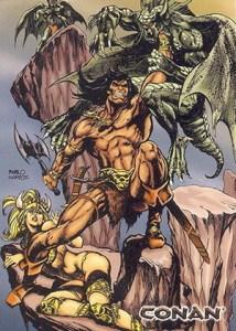 2004 Rittenhouse Conan: Art of the Hyborian Age Base Card