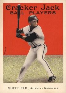 2004 Topps Cracker Jack 95 Gary Sheffield Braves