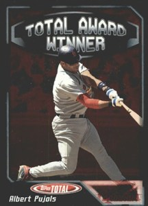 2004 Topps Total Baseball Award Winner Albert Pujols