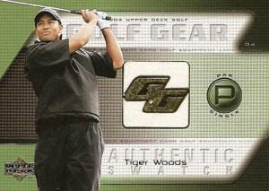 2004 Upper Deck Golf Golf Gear Tiger Woods