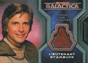 2006 Rittenhouse Battlestar Galactica Colonial Warriors Costume Card