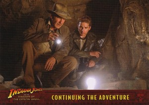 2008 Topps Indiana Jones Heritage Kingdom of the Crystal Skull Promo