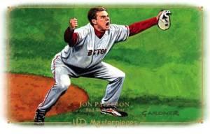 2008 Upper Deck Masterpieces Baseball 16 Papelbon
