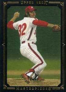 2008 Upper Deck Masterpieces Baseball Black Border Steve Carlton