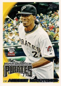 Topps All-Star Rookie Team - 2010 Topps Andrew McCutchen