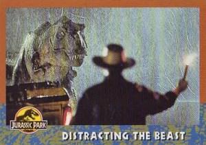 1993 Topps Jurassic Park Base