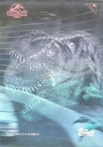 1993 Topps Jurassic Park Hologram