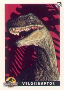1993 Topps Jurassic Park Sticker