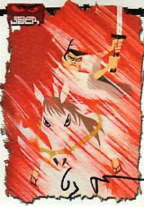 2002 Artbox Samurai Jack Autographs Genndy Tartakovsky