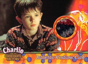 2005 Artbox Charlie and the Chocolate Factory Costume Cards Charlie Buckets Sweater (170)