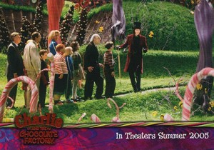 2005 Artbox Charlie and the Chocolate Factory Promo
