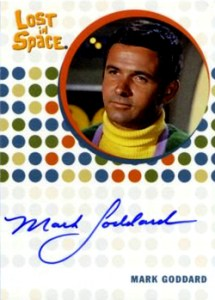 2005 Rittenhouse Complete Lost in Space Autographs Mark Goddard as Major Don West