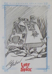 2005 Rittenhouse Complete Lost in Space SketchaFEX Chris Bolson