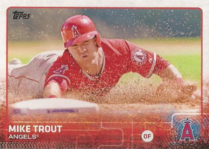 2015 Topps 1 Mike Trout