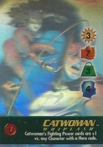 1996 Fleer SkyBox Batman Holo Series Overpower