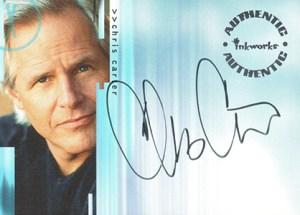 2001 Inkworks X-Files Seasons 4 and 5 Autographs A1 Chris Carter