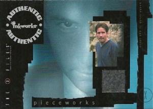 2001 Inkworks X-Files Seasons 4 and 5 Pieceworks PW1