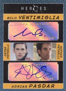 2008 Topps Heroes Volume 2 Dual Autograph