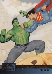 1995 Fleer SkyBox DC Versus Marvel Base
