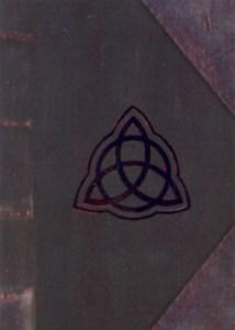 2000 Inkworks Charmed Season 1 Book of Shadows