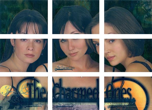 2000 Inkworks Charmed Season 1 Charmed Ones