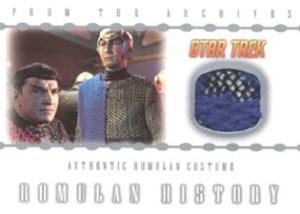 RC1 Romulan Costume from Balance of Terror