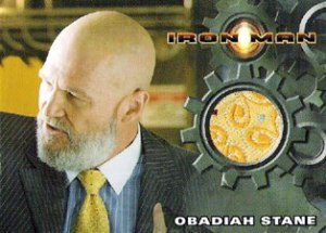 Yellow Tie worn by Jeff Bridges as Obadiah Stane