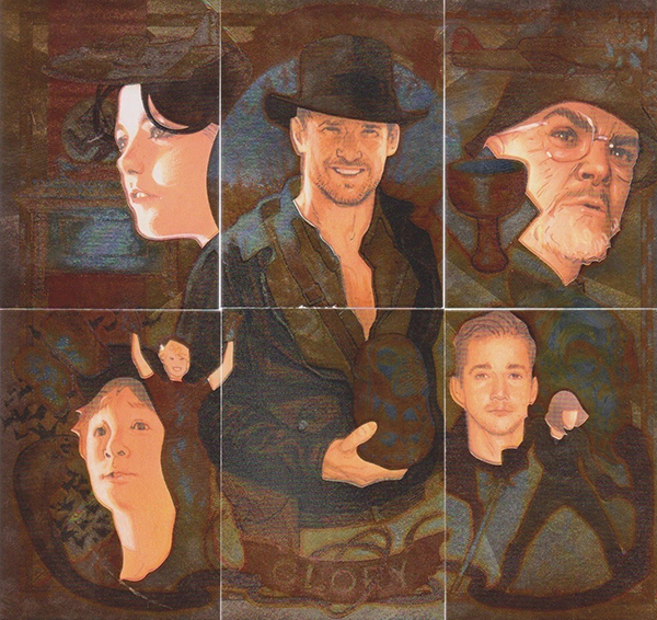 2008 Topps Indiana Jones Masterpieces Etched