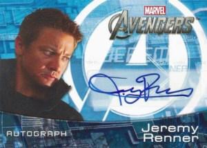 2012 Upper Deck Avengers Assemble Autographs Jeremy Renner