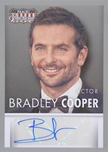 2015 Panini Americana Autographs Bradley Cooper