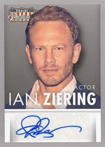 2015 Panini Americana Autographs Ian Ziering
