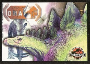 1997 Topps Jurassic Park The Lost World Sticker