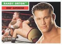 2005 Topps WWE Heritage Base Superstar Randy Orton