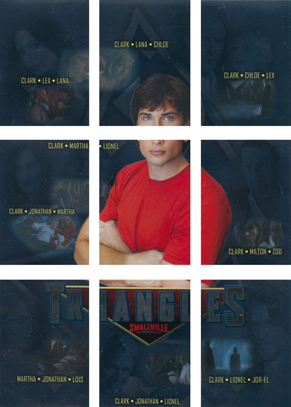 2007 Inkworks Smallville Season 5 Triangles