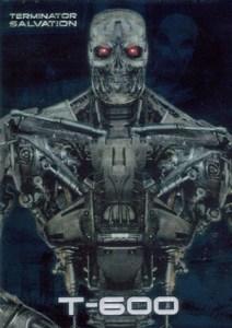 2009 Topps Terminator Salvation Embossed Foil
