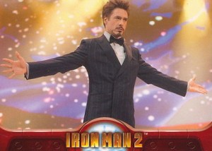 2010 Upper Deck Iron Man 2 Base