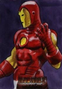 2010 Upper Deck Iron Man 2 Sketch Card