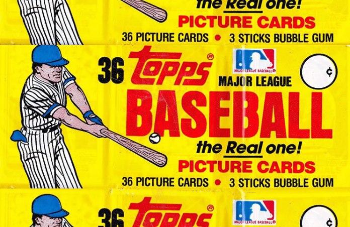 1982 Topps Baseball Grocery Rack Pack Break