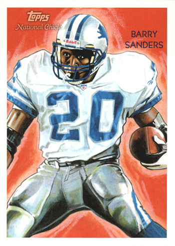 2009 Topps National Chicle 73 Barry Sanders