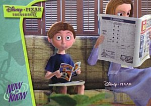 2004 Upper Deck Disney Pixar Treasures Now You Know