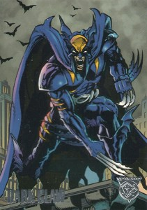 1996 Fleer/SkyBox Marvel DC Amalgam Dark Claw Promo