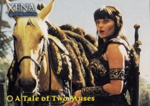 2001 Xena Seasons 4 and 5 Base