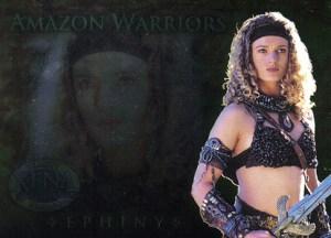 2002 Xena Beauty and Brawn Amazon Warriors