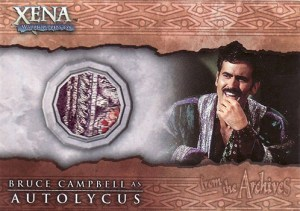 2002 Xena Beauty and Brawn Costume Cards C3