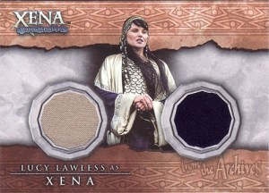 2002 Xena Beauty and Brawn Costume Cards DC8