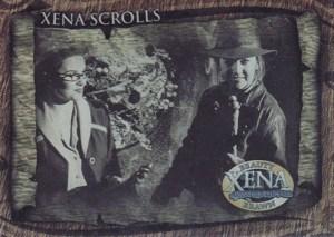 2002 Xena Beauty and Brawn Xena Scrolls