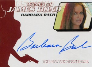 2003 James Bond Women of Bond In Motion Autographs WA3 Barbara Bach